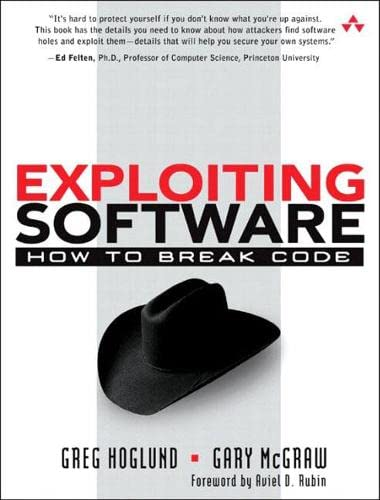 9780201786958: Exploiting Software: How to Break Code (Addison-Wesley Software Security)