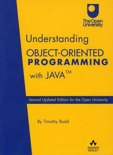 9780201787047: Understanding Object-Oriented Programming with Java
