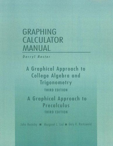 9780201792539: A Graphical Approach to College Algebra and ...