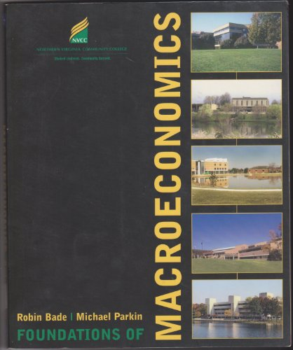 9780201793345: Foundations of Macroeconomics