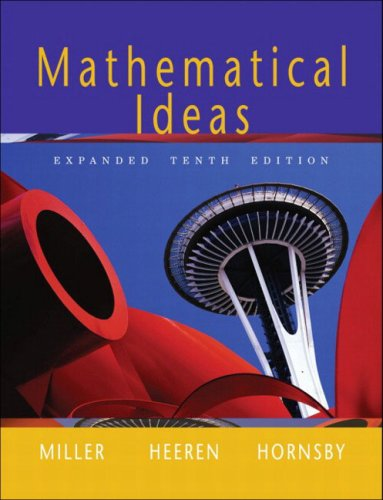 9780201793918: Mathematical Ideas, Expanded Edition (10th Edition)