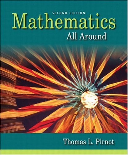 9780201795110: Mathematics All Around (2nd Edition)