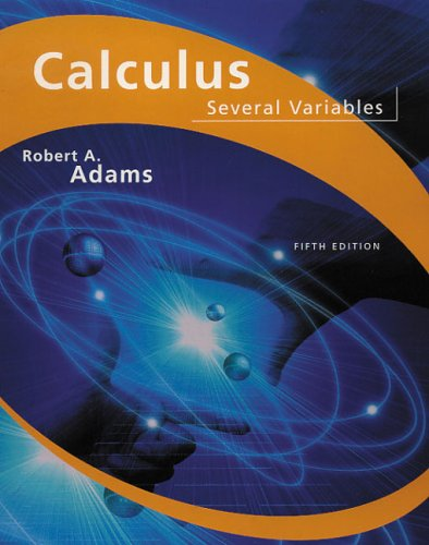 9780201798029: Calculus of Several Variables
