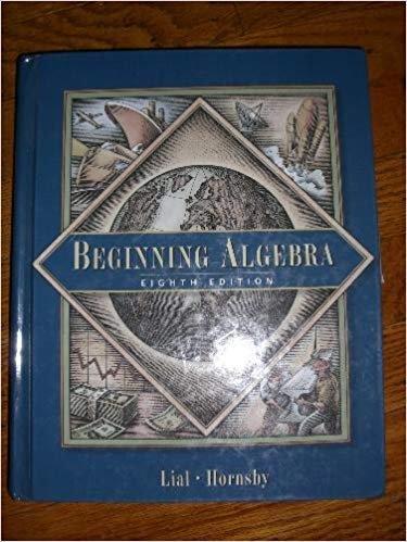 9780201799385: Beginning Algebra