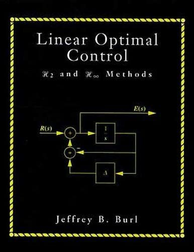 9780201808681: Linear Optimal Control