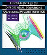 9780201808797: Fundamentals of Differential Equations and Boundary Value Problems