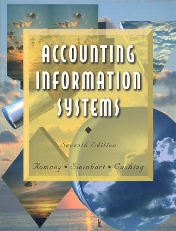 9780201809725: Accounting Information Systems (7th ed)