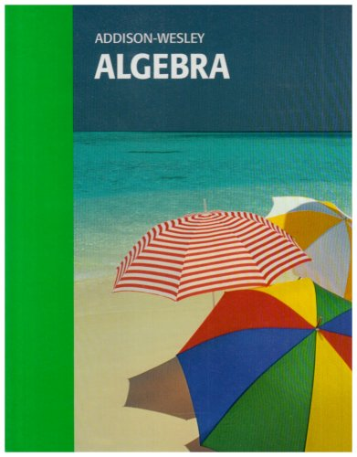 9780201812480: Addison Wesley Algebra
