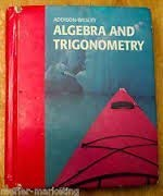 9780201812527: Algebra and Trigonometry