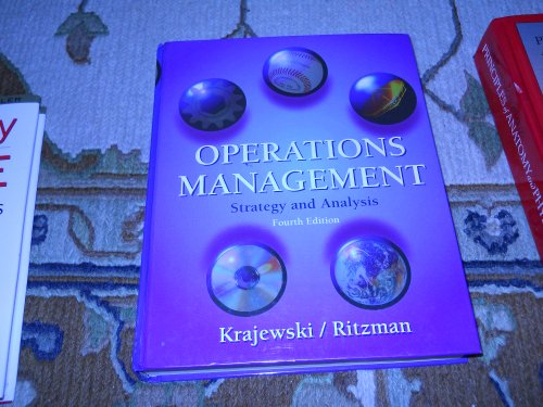 9780201822939: Operations Management: Strategy and Analysis