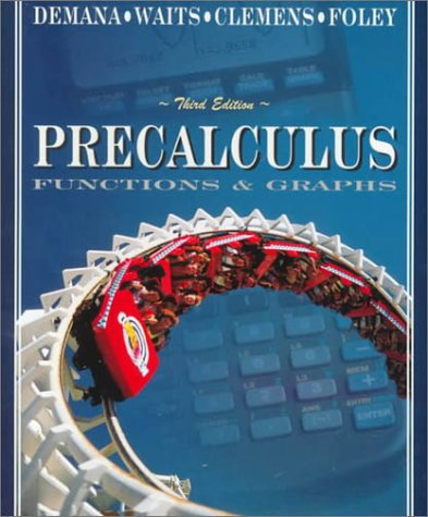 9780201822977: Precalculus: Functions and Graphs