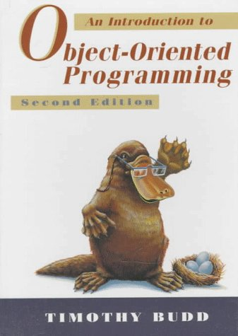 9780201824193: An Introduction to Object-Oriented Programming