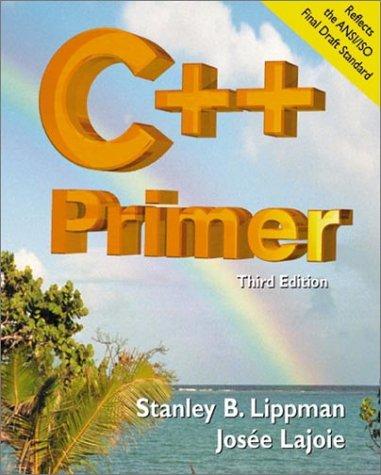 9780201824704: C++ Primer (3rd Edition)