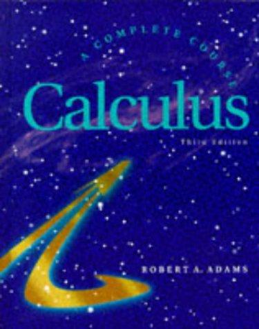 9780201828238: Calculus Complete Course