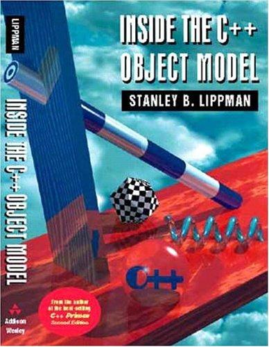 9780201834543: Inside the C++ Object Model