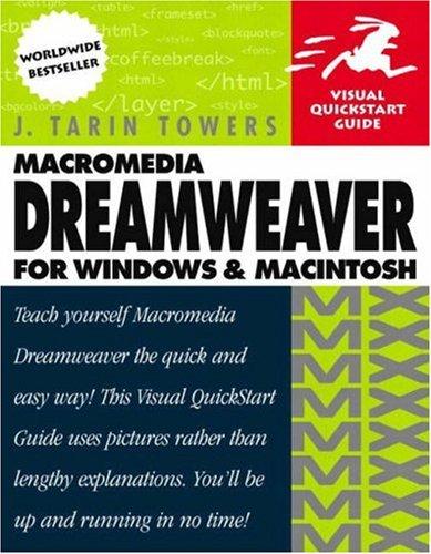 9780201844450: Macromedia Dreamweaver MX for Windows & Macintosh