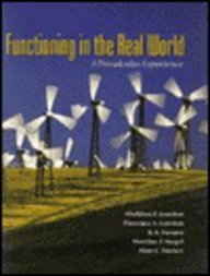 9780201846287: Functioning in the Real World: A Precalculus Experience