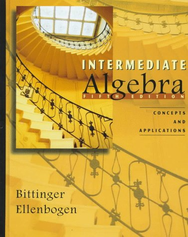 9780201847505: Intermediate Algebra: Concepts and Applications (5th Edition)