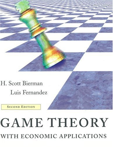 9780201847581: Game Theory with Economic Applications (2nd Edition)