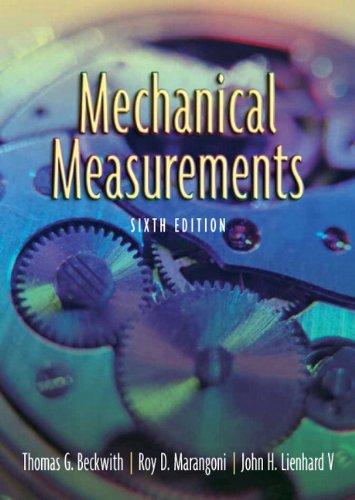 Mechanical Measurements, 6ED: Beckwith