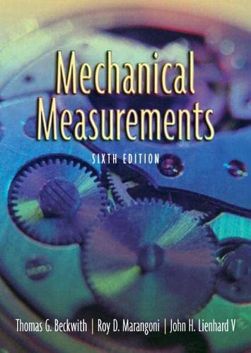 9780201847659: Mechanical Measurements (6th Edition)
