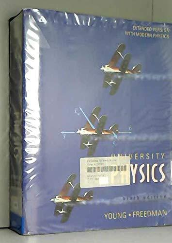 9780201847697: University Physics