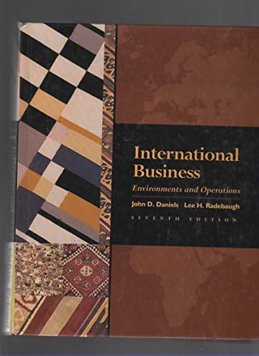9780201847895: International Business: Environments & Operations - Value Edition