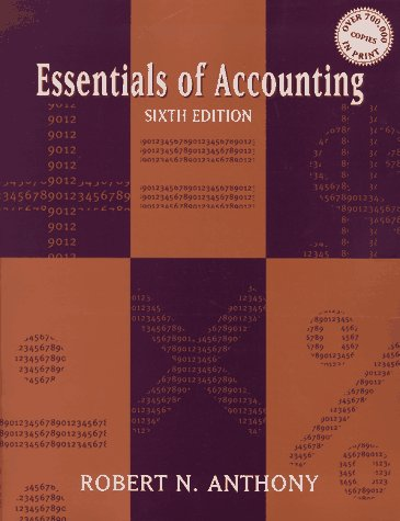 9780201848663: Essentials of Accounting