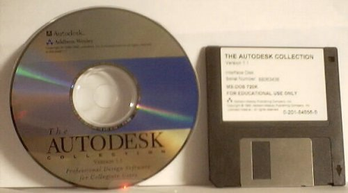 9780201849561: The AutoDesk Collection Version 1.1, Professional Design Software (1CD-ROM) and (one 3.5