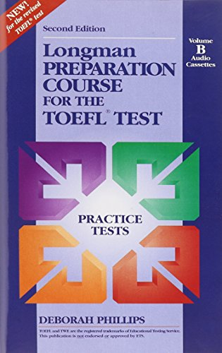 9780201849622: Longman Preparation Course for the TOEFL Test : Practice Tests : Volume B Audio Cassettes