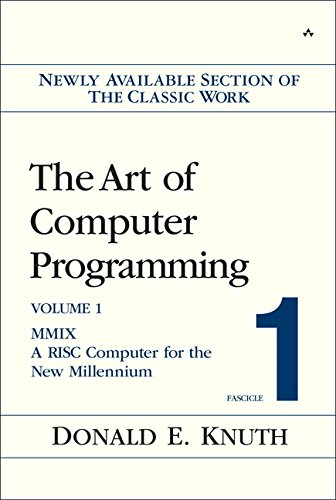 9780201853926: The Art Of Computer Programming, Fascicle 1: MMIX -- A RISC Computer For The New Millennium