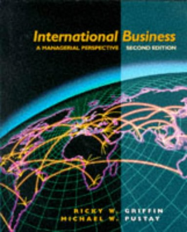 9780201857672: International Business: A Management Perspective