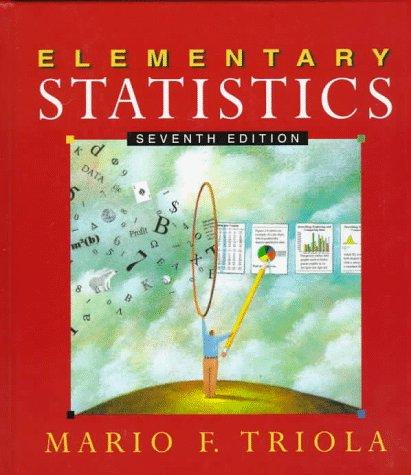 9780201859201: Elementary Statistics (7th Edition)
