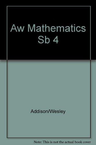 9780201865042: Addison-Wesley Mathematics: Grade 4