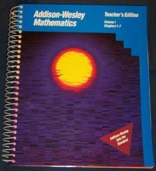 9780201866773: Addison-Wesley Mathematics (Volume 1 Chapters 1-7)