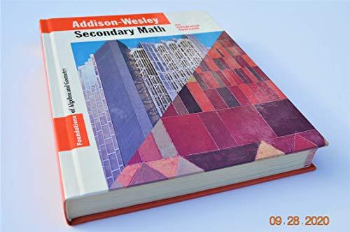 9780201867008: Foundations of Algebra and Geometry