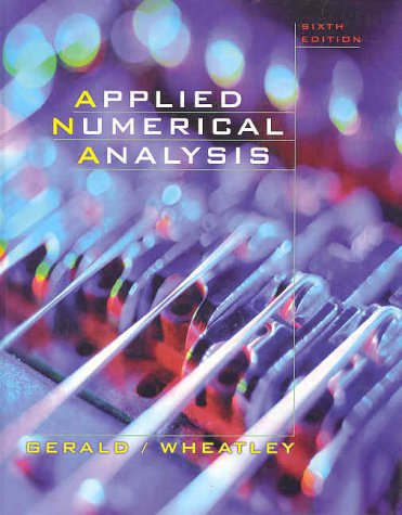 9780201870725: Applied Numerical Analysis (6th Edition)