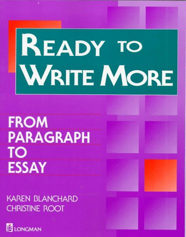 9780201878073: Ready to Write More:  From Paragraph to Essay