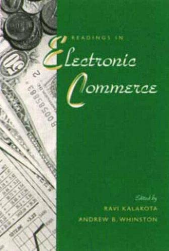 Readings in Electronic Commerce: SPHIGS Software: Ravi Kalakota; Andrew
