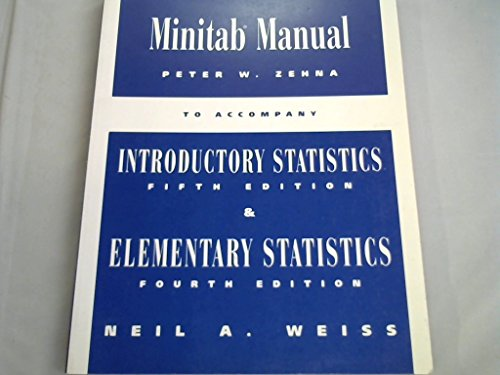 9780201883244: Minitab Lab Manual