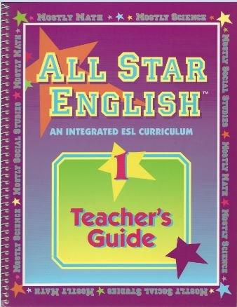 9780201885316: All Star English: Teacher's Guide Level 1