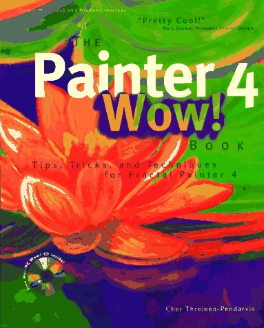 9780201886443: The Painter 4 Wow! Book