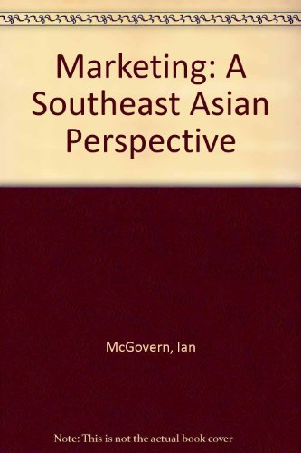9780201889109: Marketing: A Southeast Asian Perspective