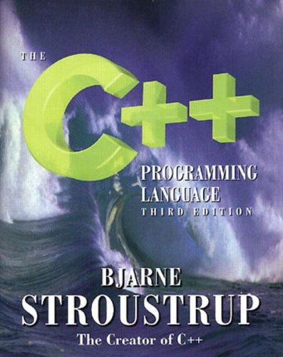 9780201889543: The C++ Programming Language (3rd Edition)