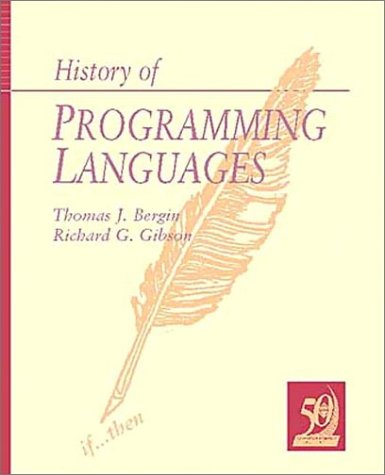9780201895025: History of Programming Languages-II
