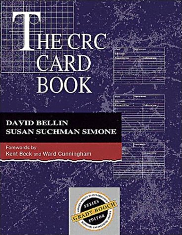 The CRC Card Book (0201895358) by David Bellin; Susan Suchman Simone