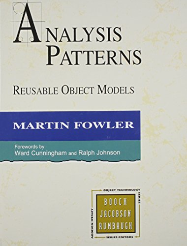9780201895421: Analysis Patterns: Reusable Object Models