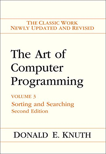 9780201896855: The Art of Computer Programming 3. Sorting and Searching: The Classic Work Newly Updated and Revised: Sorting and Searching v. 3