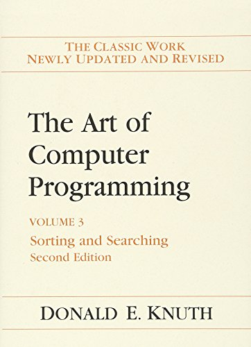 9780201896855: Art of Computer Programming, The: Volume 3: Sorting and Searching