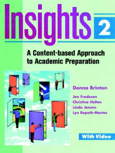 9780201898576: Insights 2: A Content-based Approach to Academic Preparation (Longman Academic Preparation Series)